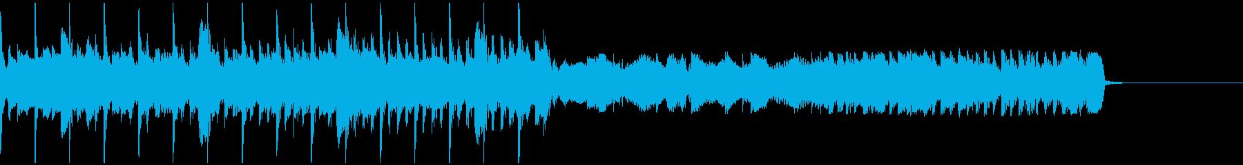 シングル 和を感じる自然ビートの再生済みの波形