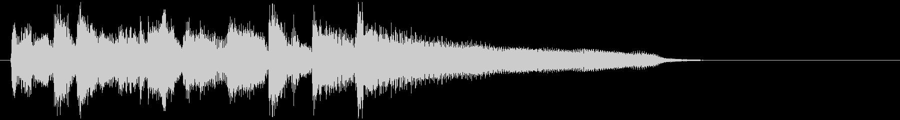 スマートでスタイリッシュなジャズ系ロゴの未再生の波形
