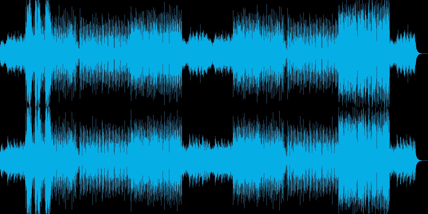 SF音楽の再生済みの波形