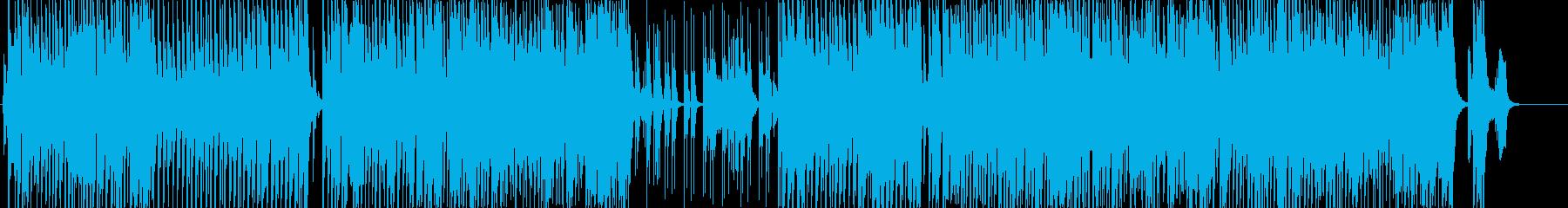 刹雷の再生済みの波形