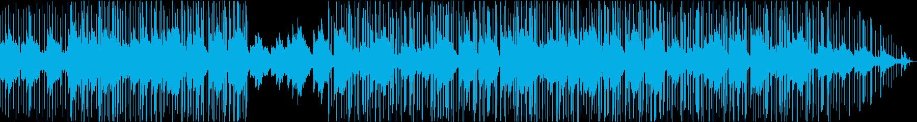 エレキギター・VLOG・リラックス・チルの再生済みの波形