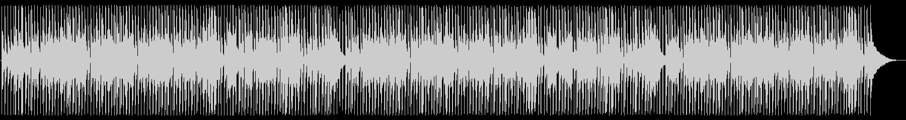 ほのぼのした雰囲気のピアノの未再生の波形