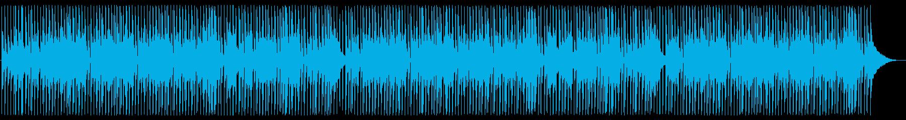 ほのぼのした雰囲気のピアノの再生済みの波形