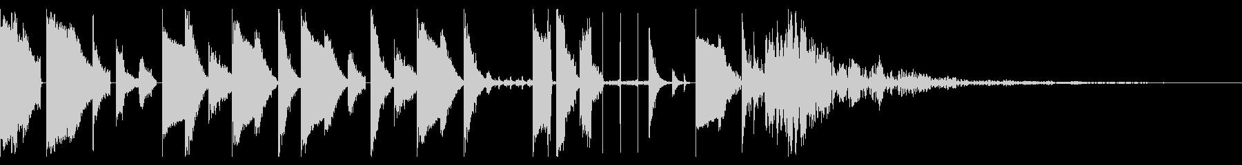 155 BPMの未再生の波形