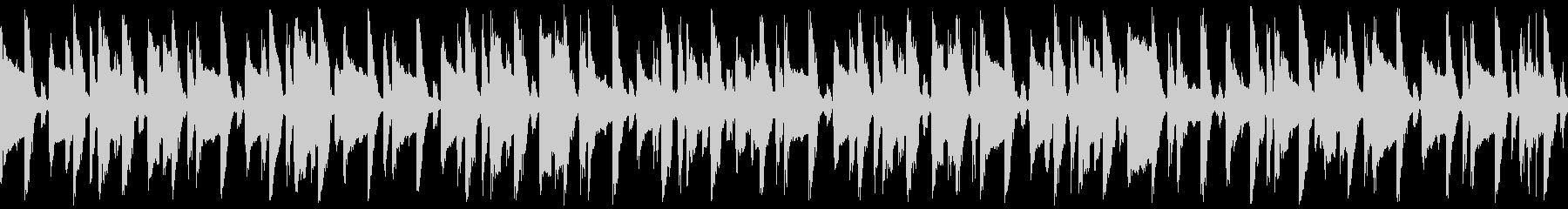 ほのぼの明るい口笛&ギター(ループの未再生の波形