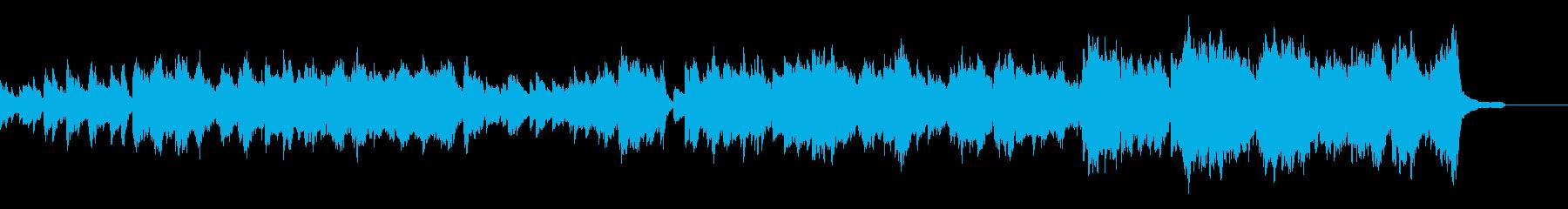 感動的な劇伴ミュージックです。の再生済みの波形