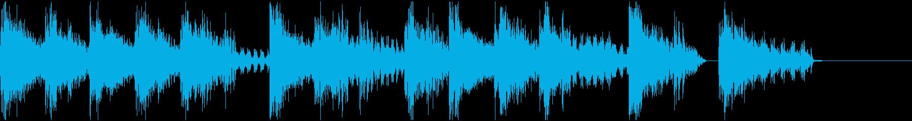ファミコン・ゲーム風  ジングル5の再生済みの波形