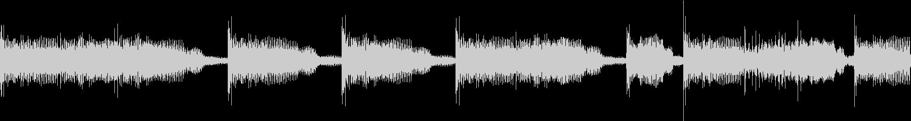 Hiphop デジタル RAP VOXの未再生の波形