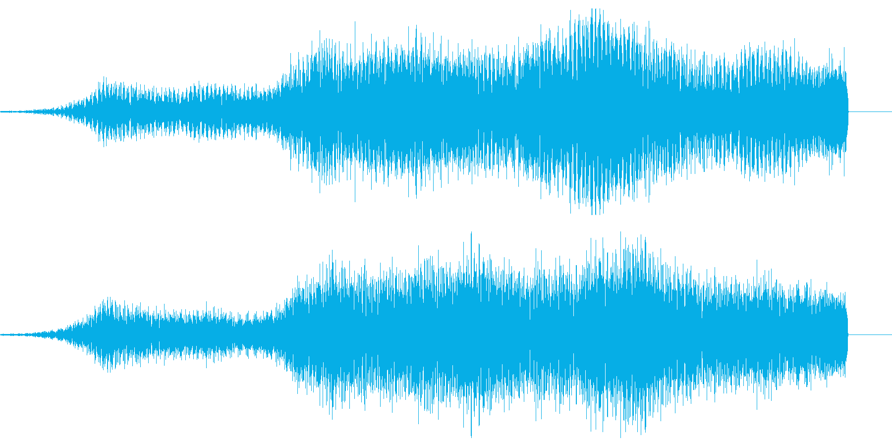 BGM_ホラー_不気味_接近_不快の再生済みの波形