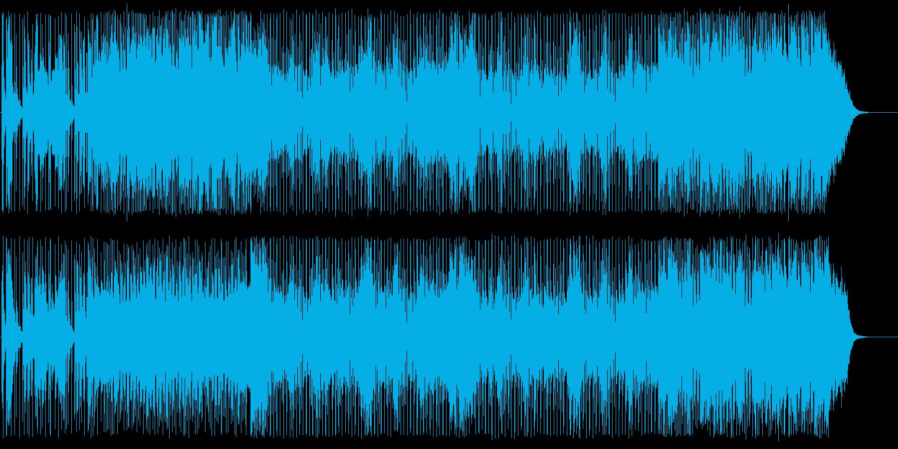 スピード感があるノリやすいポップの再生済みの波形