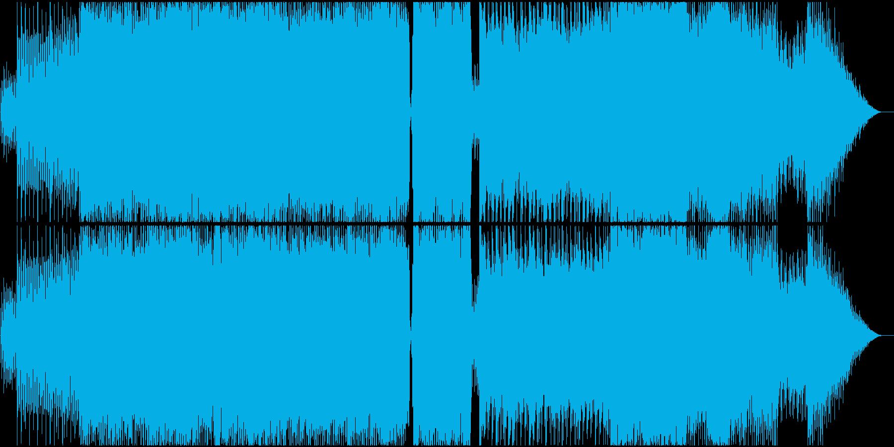 切なくも疾走感のあるピアノロックの再生済みの波形