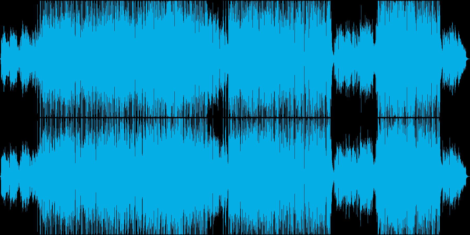 ムスクの香りのネオソウル。良い声。の再生済みの波形