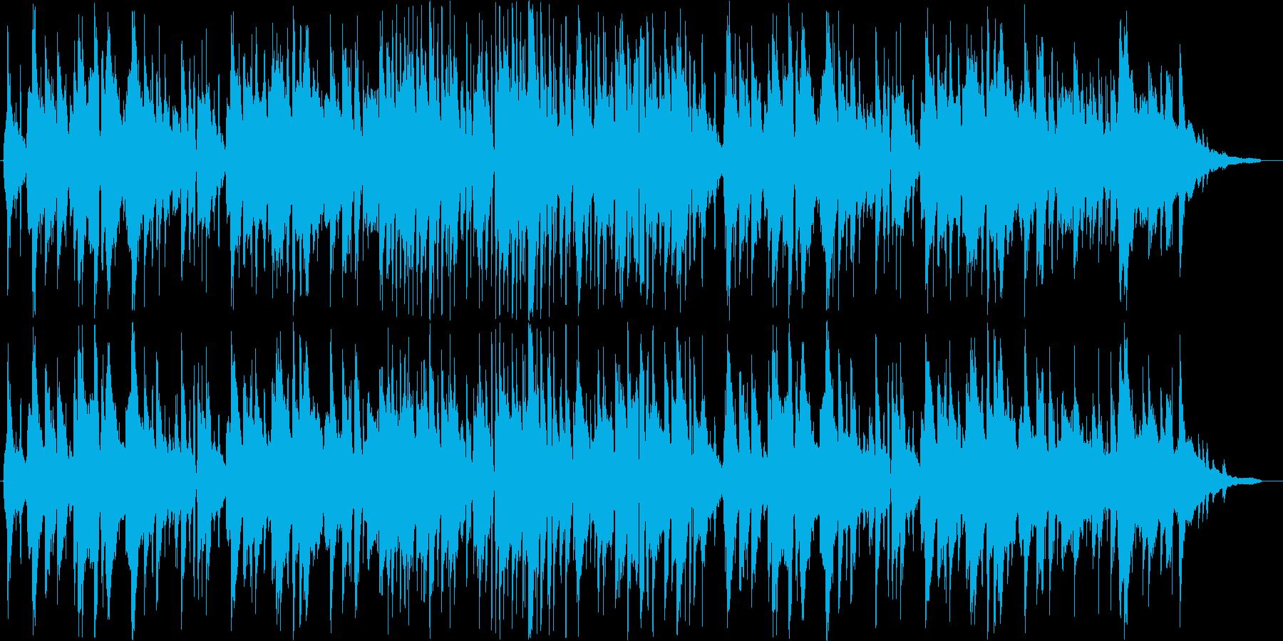 フランス・ジャズアコーディオンのワルツの再生済みの波形