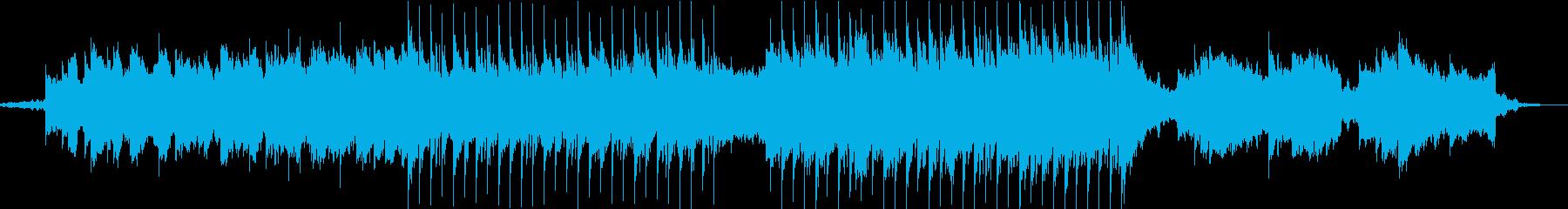 ゆったりオシャレなラウンジBGMの再生済みの波形