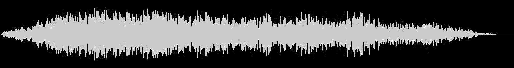 シャープガーブルドウーの未再生の波形
