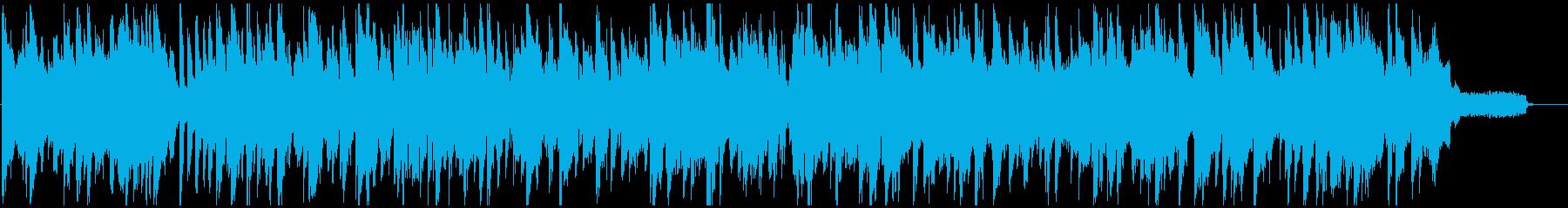 ライトで軽い音色のサックス・ジャズ、軽快の再生済みの波形