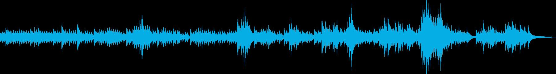 安らぎ(ピアノソロ・安心感・優しい)の再生済みの波形