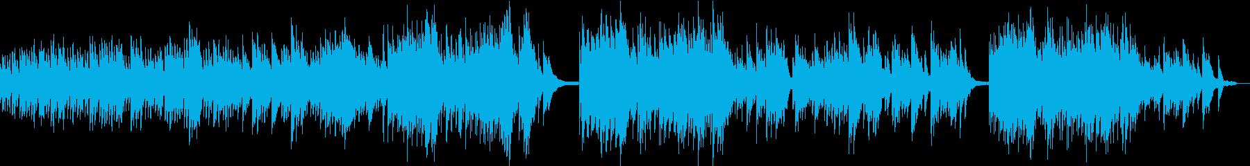 残滓・涙・切なく感動ソロピアノBGMの再生済みの波形
