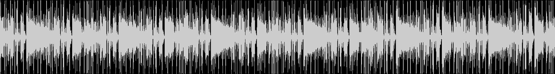 シンプルなファンク風のシンキングタイムの未再生の波形