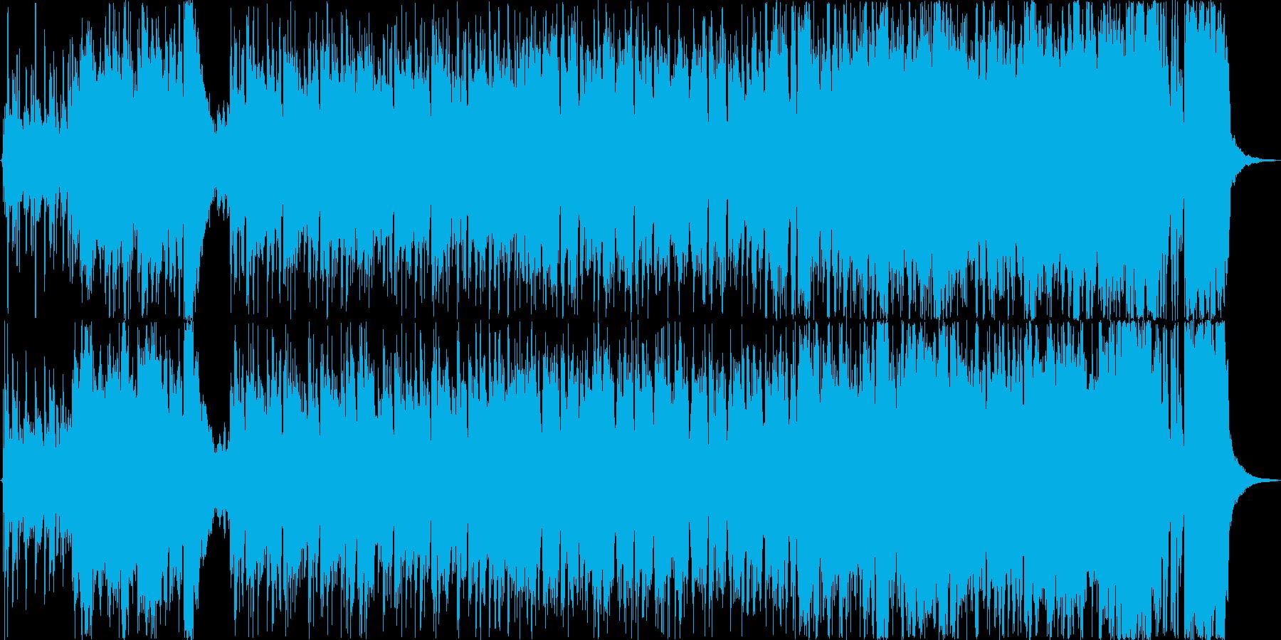 スタイリッシュスパイ/タイトル/PVの再生済みの波形