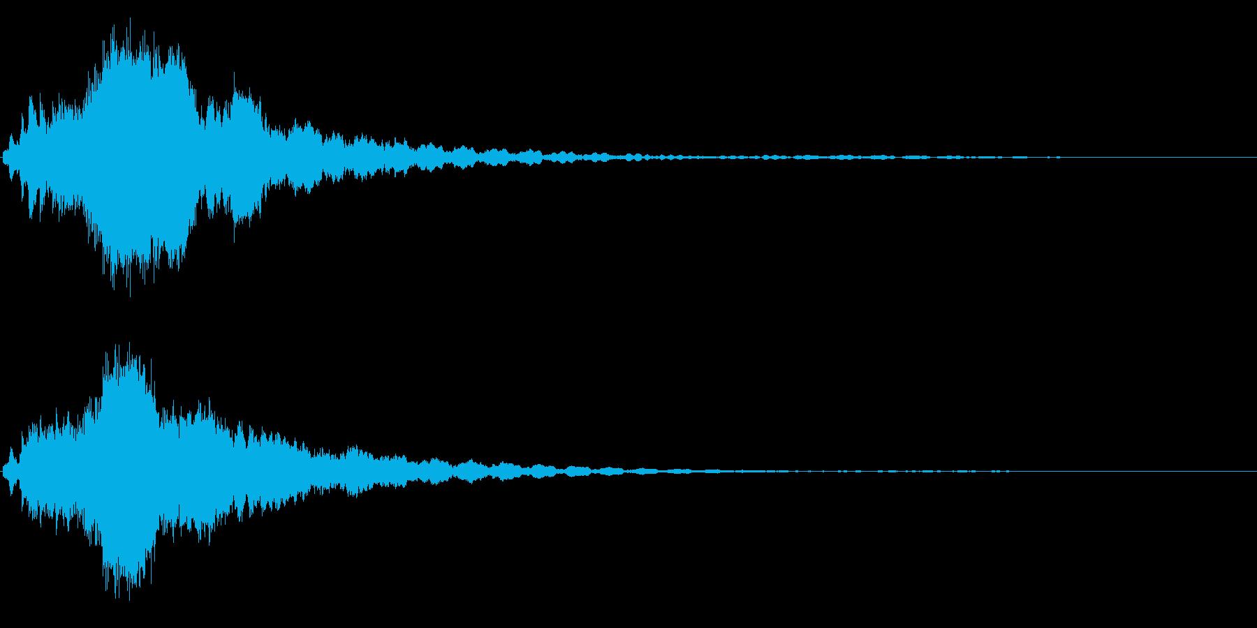 キラキラ☆ピキーン(星の輝き 魔法)01の再生済みの波形