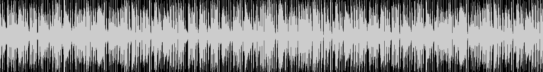 軽快でキャッチーなジャズピアノポップスの未再生の波形
