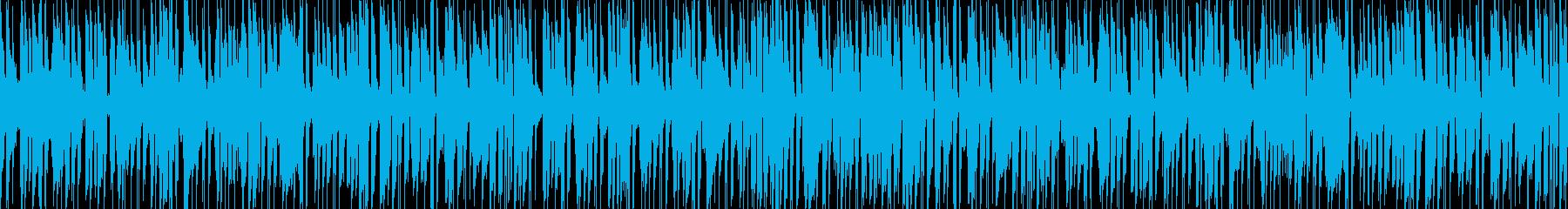 軽快でキャッチーなジャズピアノポップスの再生済みの波形