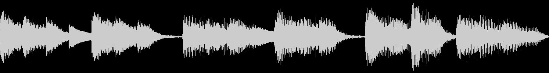 Piano_soloの未再生の波形