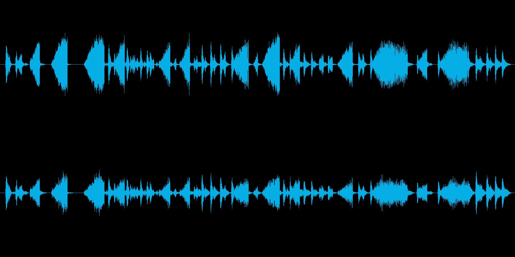 シーケンス クレイジーノイズパーカ...の再生済みの波形