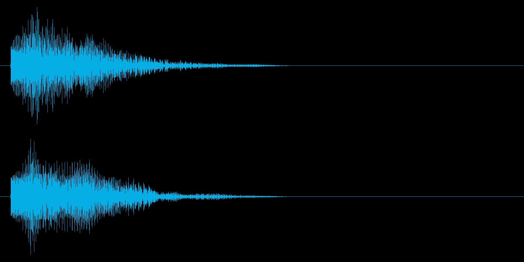 キャンセル/ゲームオーバー/デジタル/の再生済みの波形