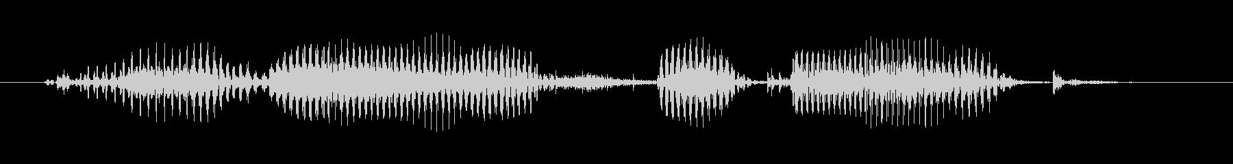 シニア男性B:グレートマインドは同...の未再生の波形
