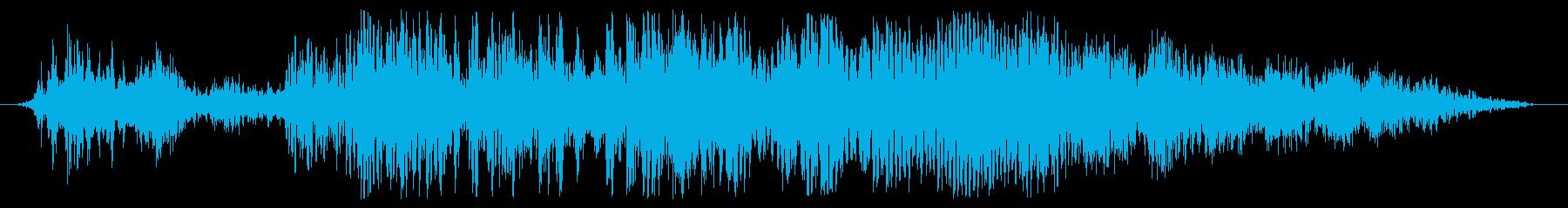 サーボスタートライザーの再生済みの波形