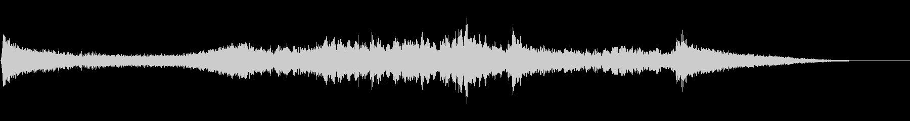 和風正月アイキャッチ音(クリスタル風)の未再生の波形
