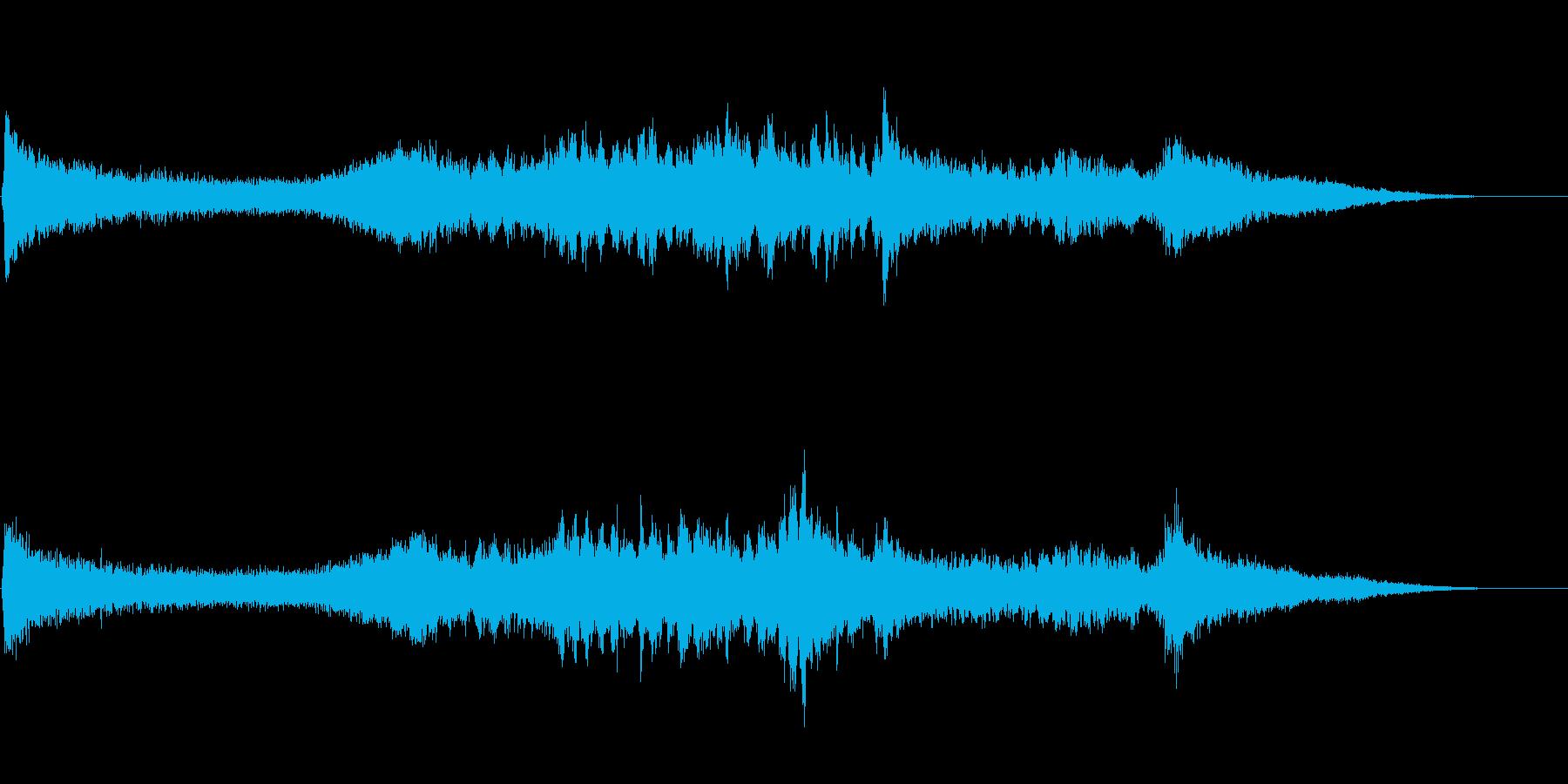 和風正月アイキャッチ音(クリスタル風)の再生済みの波形