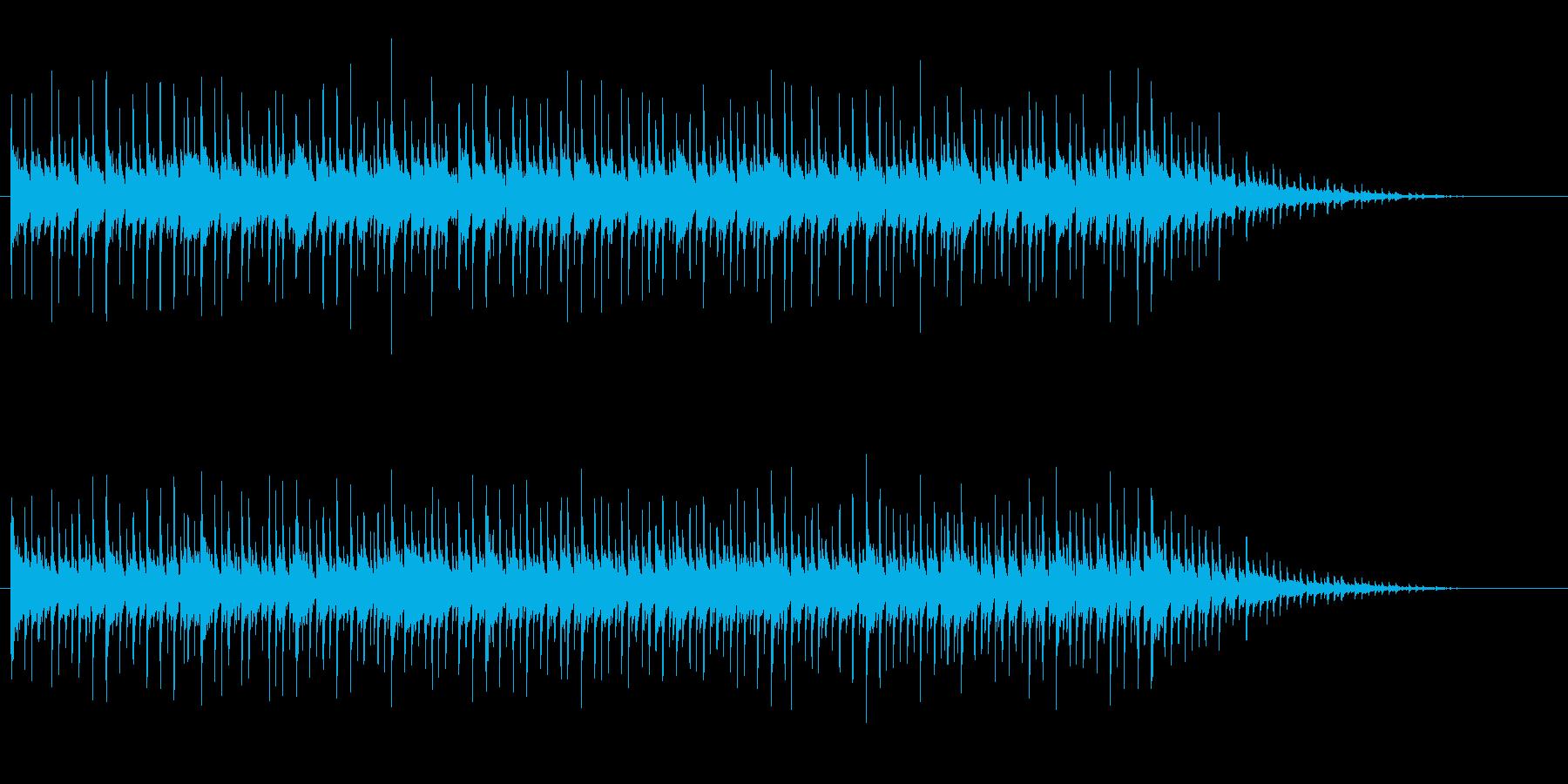日常系ほのぼのイージーリスニングの再生済みの波形