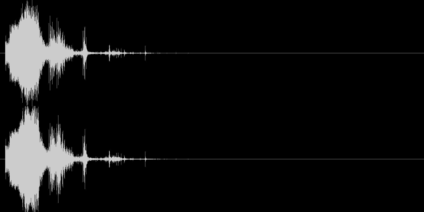 斬撃:軽めの斬撃2の未再生の波形