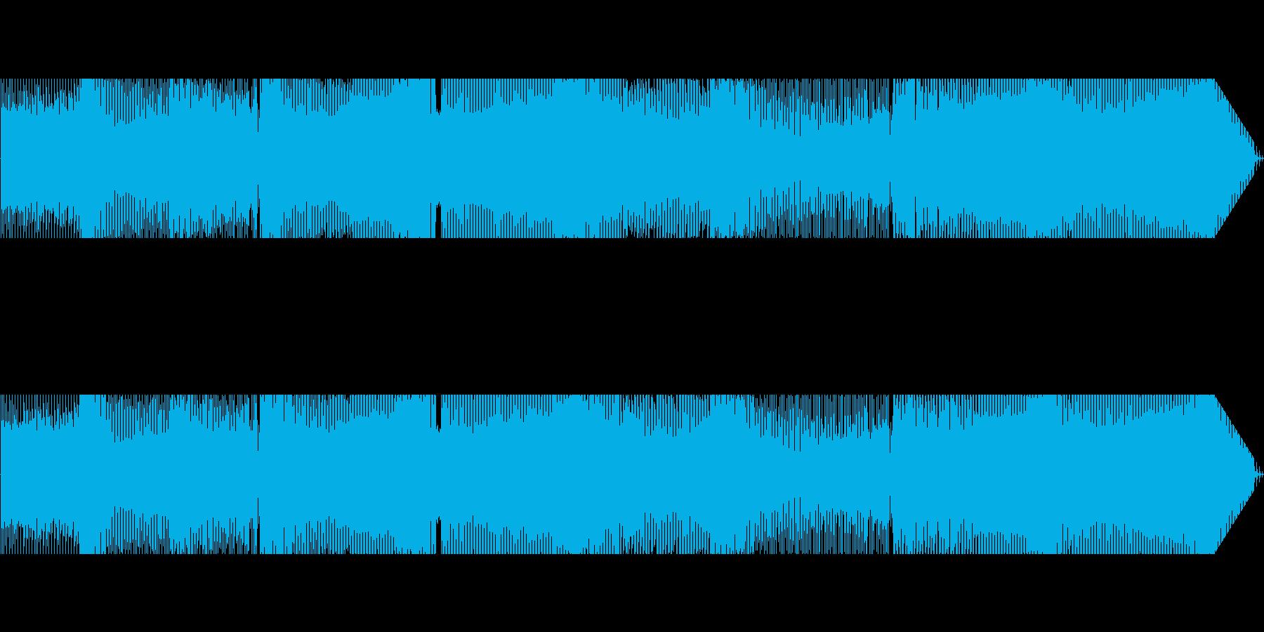 pop調で可愛らしいEDMの再生済みの波形