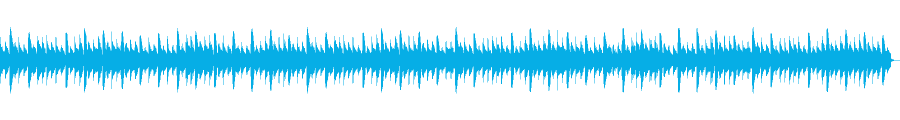 きらきら星  (ゆっくりアコギ)の再生済みの波形