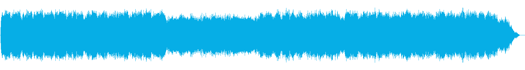 Lyrical flute melody's reproduced waveform