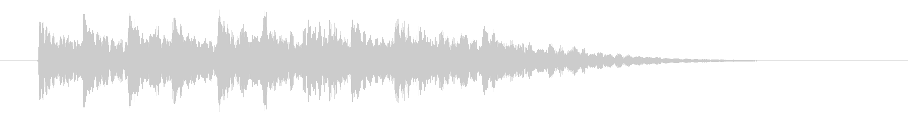 ピンポンパンポン(注目、ベル、お知らせ)の未再生の波形