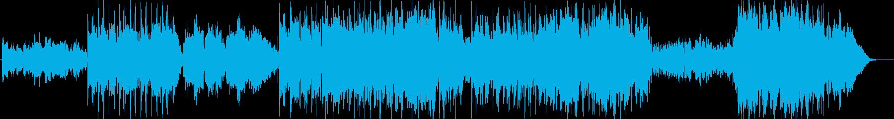 民俗楽器を多用したケルティックの再生済みの波形