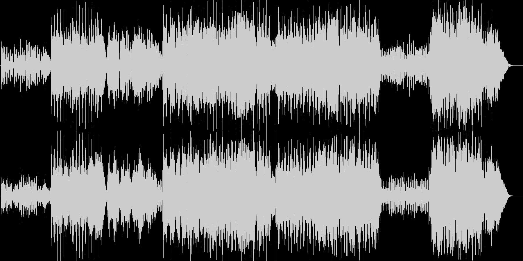 民俗楽器を多用したケルティックの未再生の波形