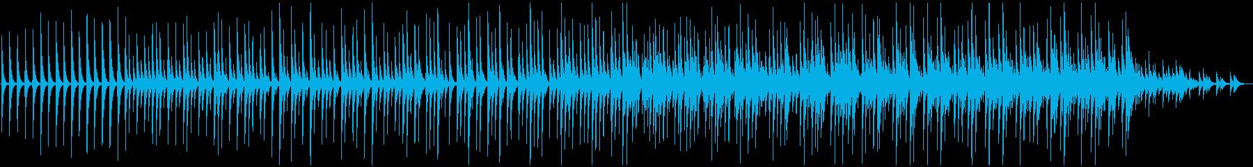 木琴5音階チャイム豪華版、ミニマルの再生済みの波形