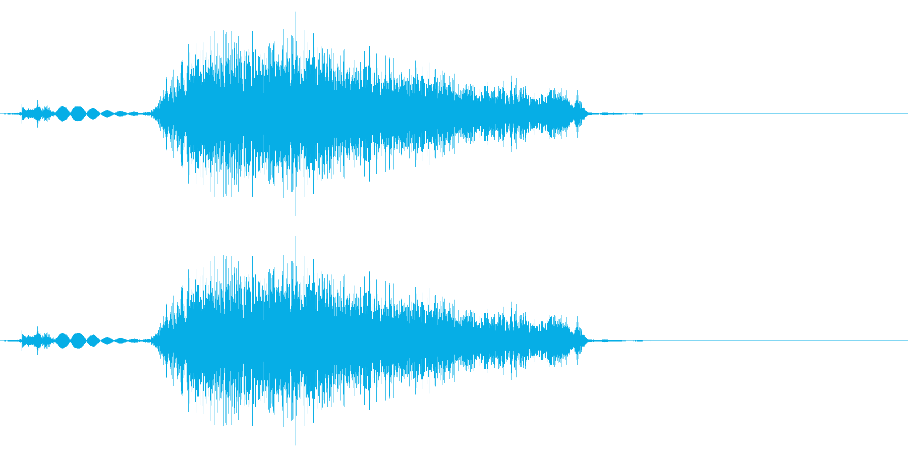 タブ切り替え時の音(紙を擦る音)_01の再生済みの波形