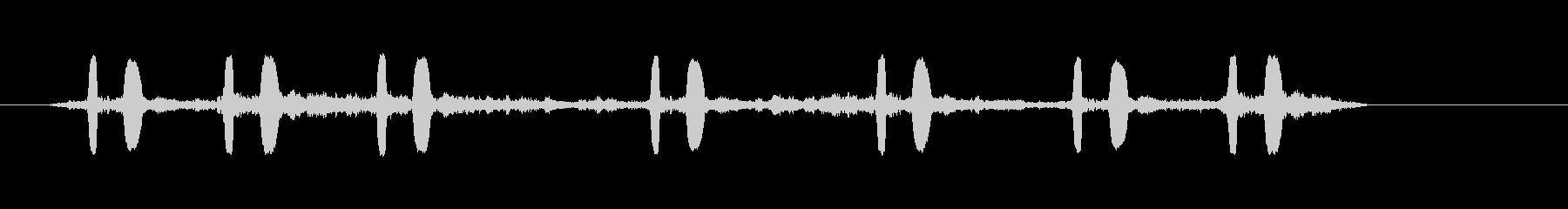カッコウ2の未再生の波形