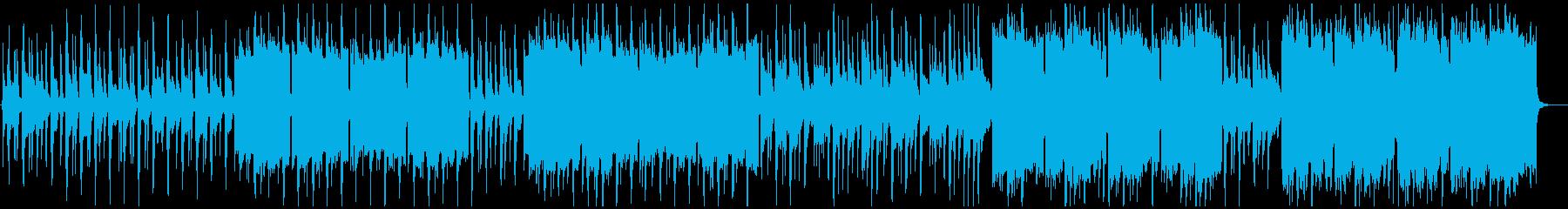 長い歴史を感じる場所へのリュート音源曲の再生済みの波形