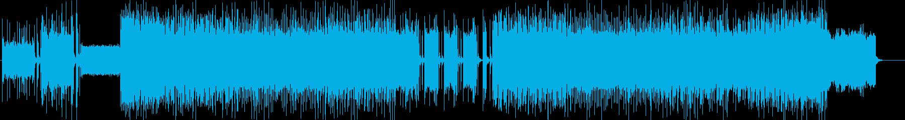 「DARK・DEATH」BGM223の再生済みの波形
