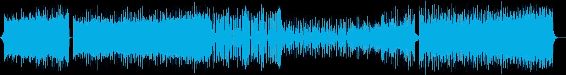 Futurebassの再生済みの波形