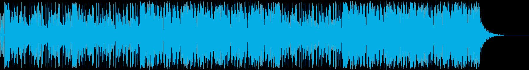 緊張感あるストリングスのカフェサウンドの再生済みの波形