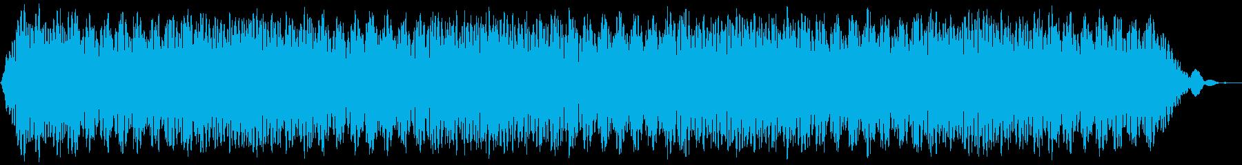 【アンビエント】ドローン_44 実験音の再生済みの波形
